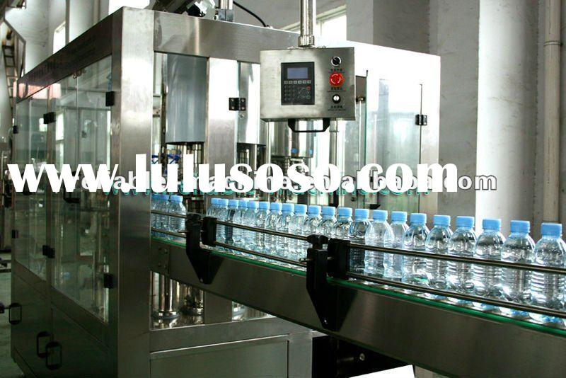 3 in 1 automatic plastic bottled water filler high quality low price CGF