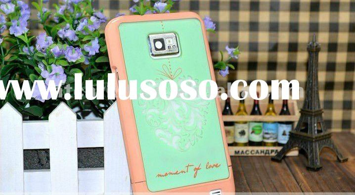 3in1 Travel Series Hard Plastic Cover Case for samsung galaxy s2 i9100
