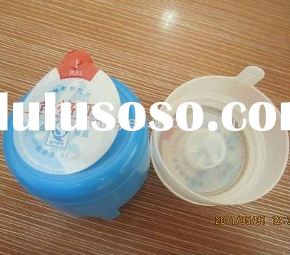 5 gallon water bottle cap with heat seal label