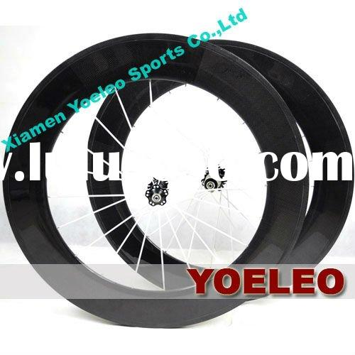 700C best road wheelset carbon fiber clincher 88mm with Novatec Hubs for 8/9/10 Speed