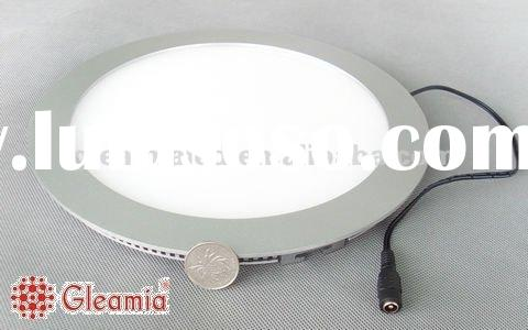 Aluminum alloy frame and PMMA cover round led panel light,Side-emitting 180x15mm