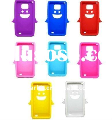 Angel Silicone Case For Samsung Galaxy S II 2 i9100 accessories