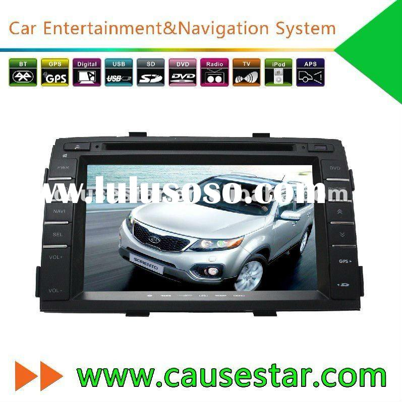 Causestar New model Kia Sorento Car DVD GPS with Audio,bluetooth,video,car stereo accessories