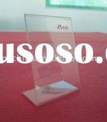 Clear Acrylic Price Tag,Price Stand With logo printing