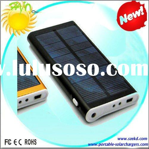 Electronic Gift/Emergency Solar Mobile Charger