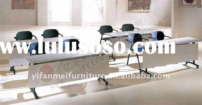 Folding Office Training Table With Chair Set