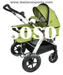 I-S025 European Standard High Quality and Comfortable Two Functions Baby Trolley