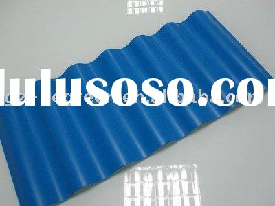 One layer/3mm PVC corrugated roofing sheet,PVC sheet,