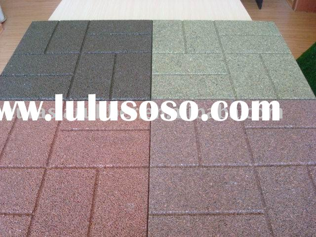 Outdoor rubber brick rubber paver
