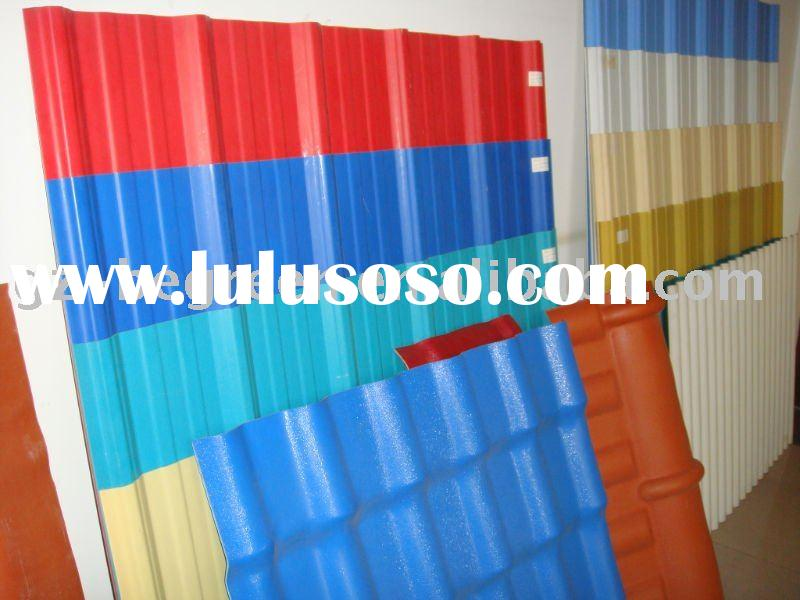 PVC corrugated sheet, PVC tile, plastic tile