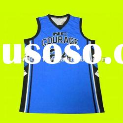 Professional custom design basketball jersey