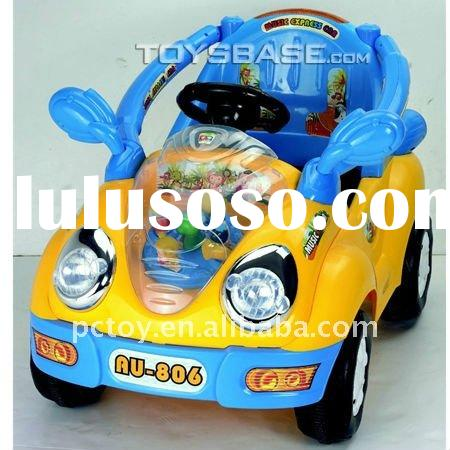Toy electric car for kids ride on remote control