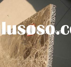 aluminum foam tile--composite of aluminum foam with marble