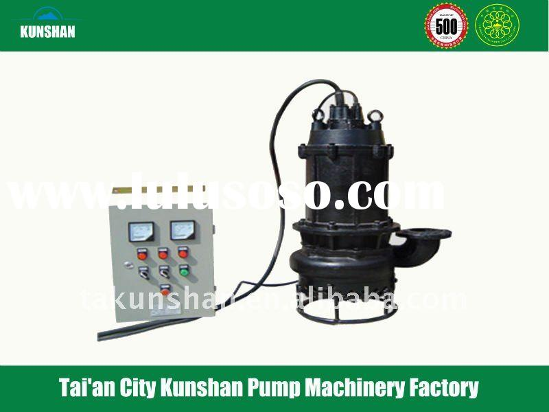 electric motor submersible river sand pump dredger