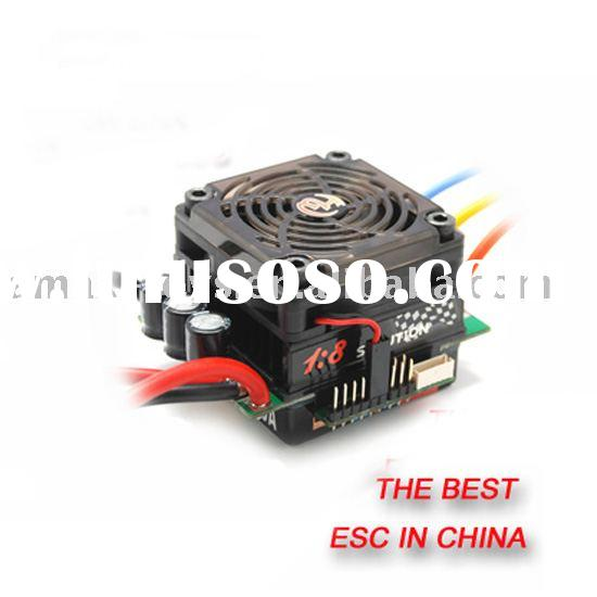 esc-er80a Brushless ESC for 1/8 Car parts ( Race and RTR Application)rc toy parts