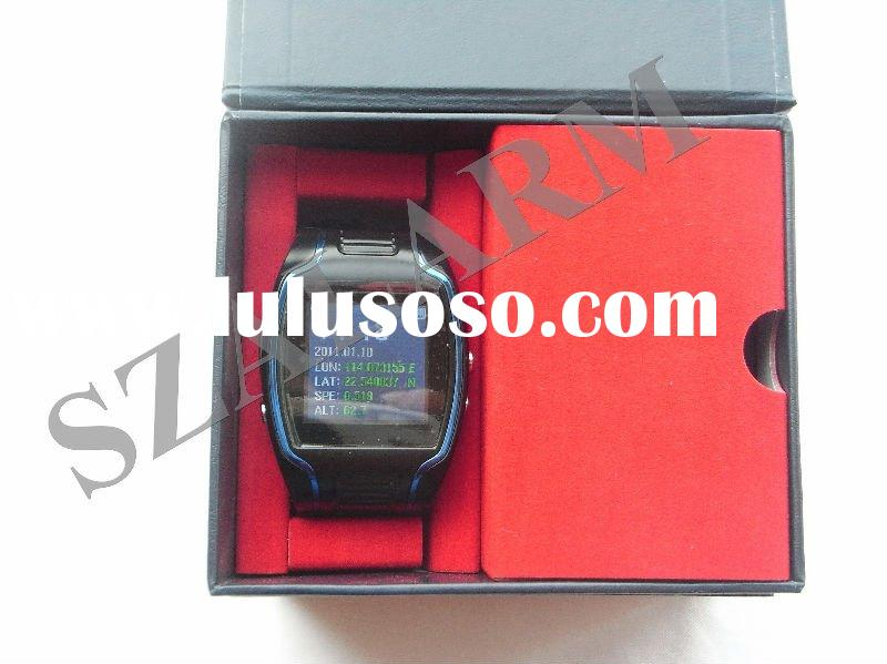 gps wrist cell phone watch with SOS button, call in function