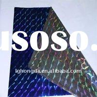 holographic BOPP film for gift wrapping paper with free samples