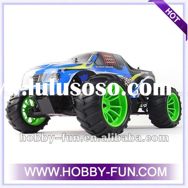 hot sale 1/10 Scale Gas Powered 4WD Off-Road Nitro Radio Control Truck RC Hobby Cars For Sale