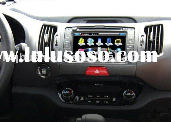 new Kia Sportage car DVD GPS, 2010 model, Canbus, RDS, bluetooth, steer wheel control, sd, usb and o