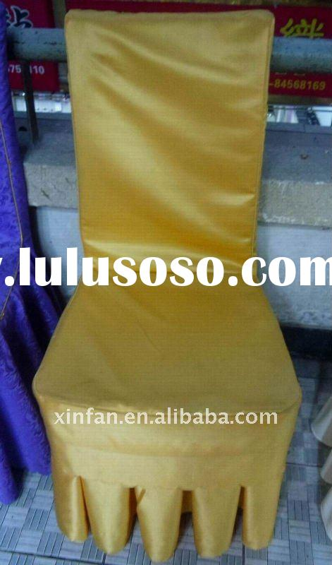 polyester chair cover for banquet chair