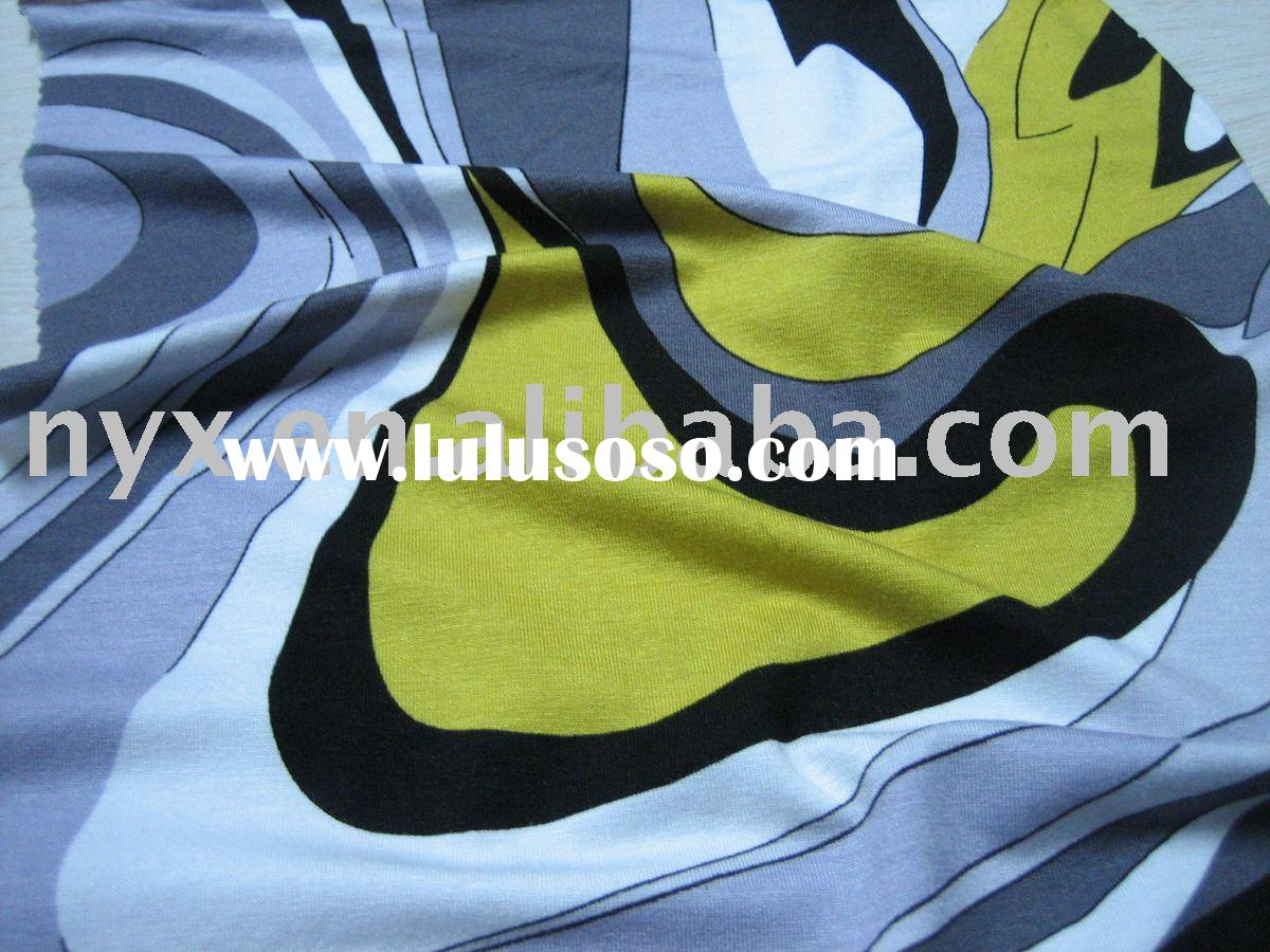 spandex knitted cotton fabric