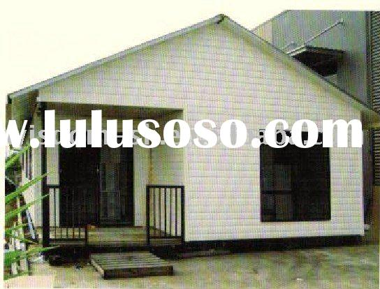 steel structure container house project/ modular house/corrugated steel sheet