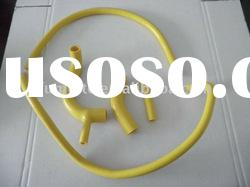 yellow AUSTIN/ROVER MINI ONE 850CC/998CC/1098CC 1959-1996, AUTO PARTS, radiator silicone hose kit PI