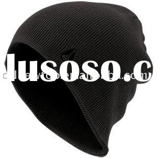 100% Acrylic Knitted Beanie Hat