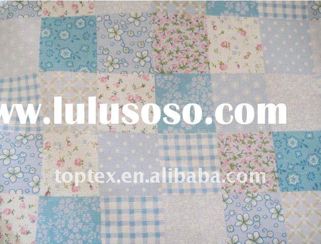 100% cotton printed home textile fabric