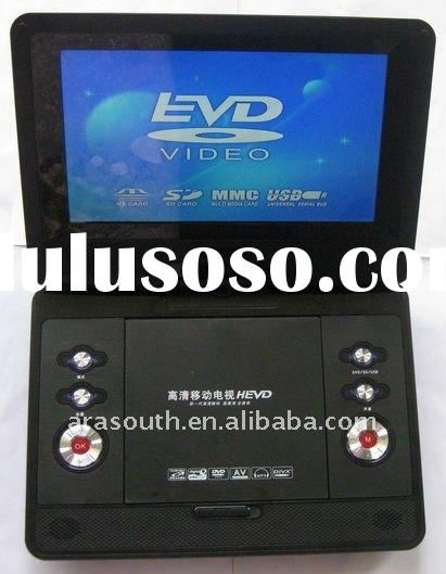 12.1 panel portable DVD player with high quality and cheapest price