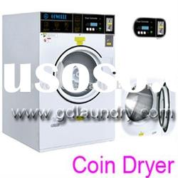 12kg electric heating commercial coin laundry dryer-for hotel,hospital,laundry factory