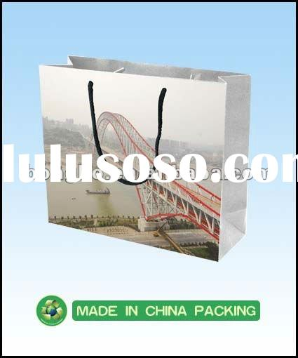2012 Hot Sale Customized Paper Shopping Bag