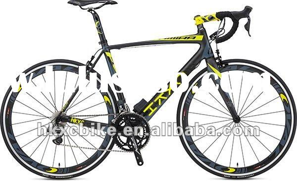 2012 New Road Bikes Carbon Fibre Frame With 20 Speed KMC Chain, Manufacturer good price