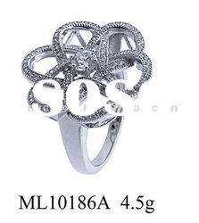 2012 hot sale sterling silver 925 wedding ring