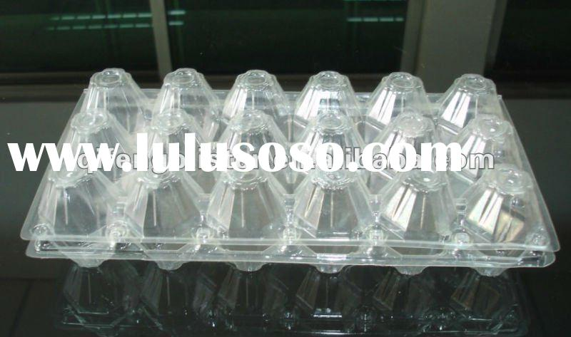 2/4/6/8/9/10/12/15/16/20/24/30/40 PET / PVC plastic egg tray container,refrigerator egg tray