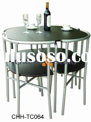 4 Seater Wood Dining Set