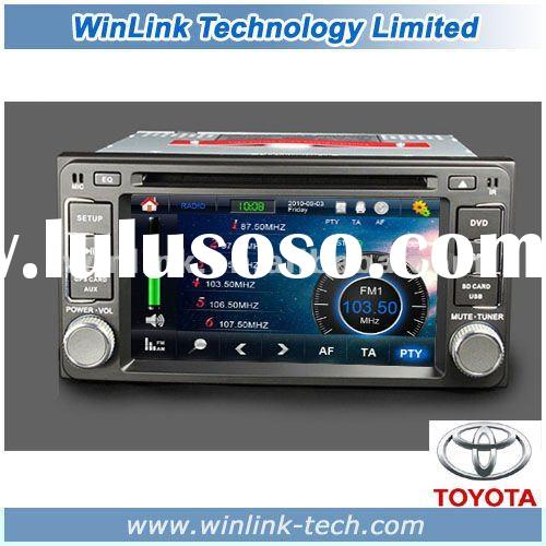 7'' Hot Selling 2 Din Car Radio GPS for Toyota Old Corolla