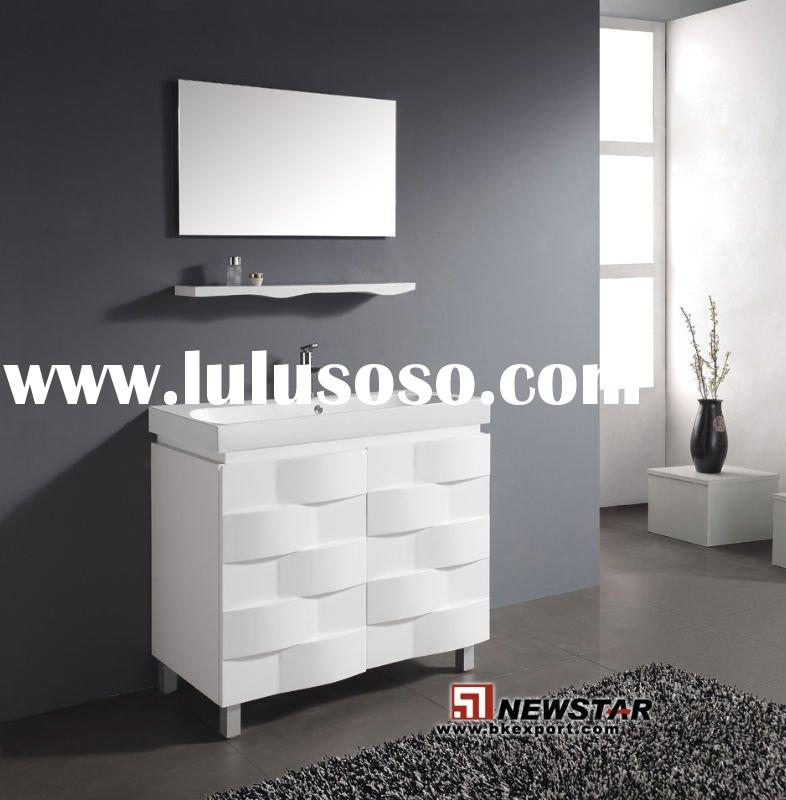 Bathroom Cabinets (Hot Sell Bathroom Vanity,UV Painting,With Blum Hinge)-New Design