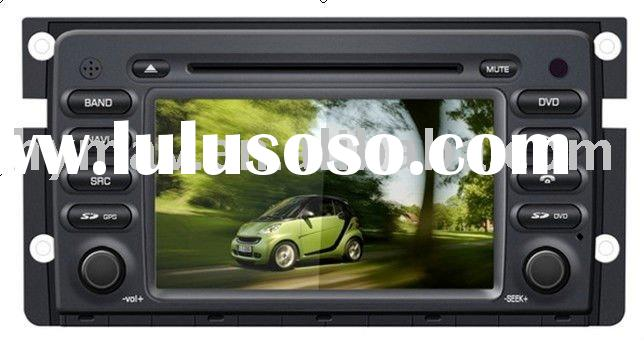 Benz Smart 7 inch 2 din car audio DVD with GPS