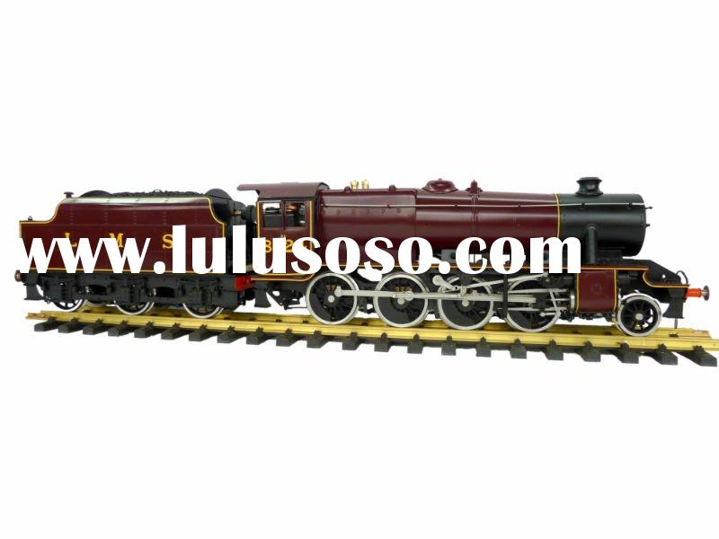 Brass model steam locomotive