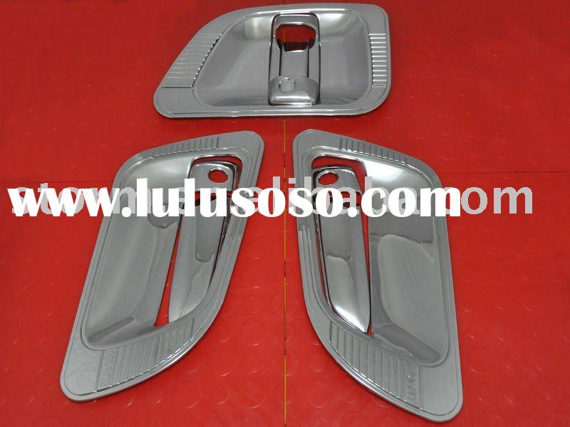 CHROME OUTER CAR DOOR HANDLE COVERS 2005 TOYOTA HIACE
