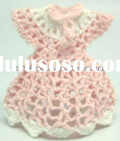 Crochet Mini Baby Shower Gift, Crochet Mini Baby Dress Clothes