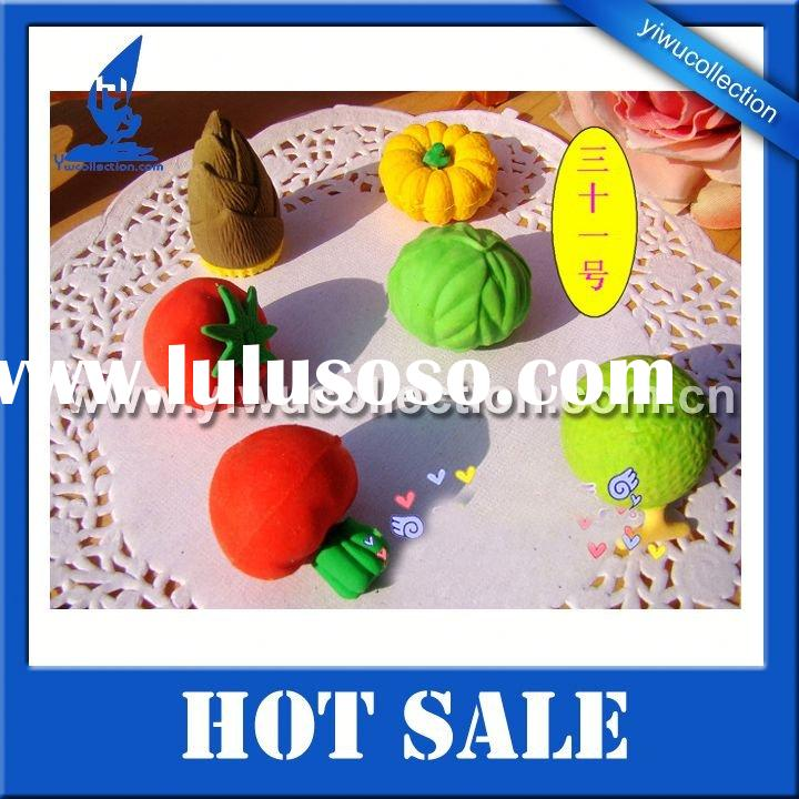 ECO friendly EN71 passed 3d puzzle eraser,school eraser