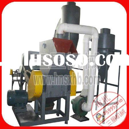 Electrical cable wire recycling equipment for Copper