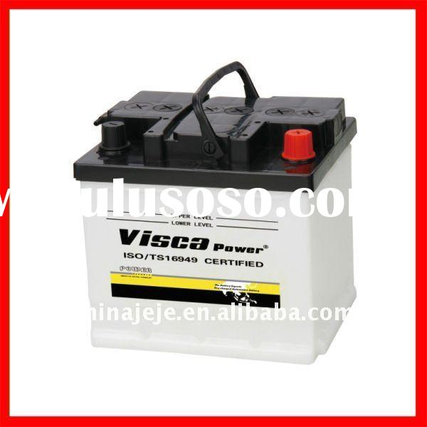 Export High-Quality 12 Volt JIS Rechargeable Dry Charged Lead Acid Starting Car Battery 54434 12V44A