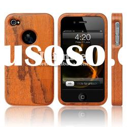 For iPhone Wood Case Made Of Bloodwood