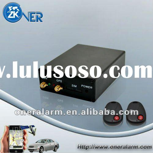 GPS Vehicle Tracker with RFID control and voice communication