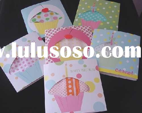 Hand Made Decorative Greeting Cards