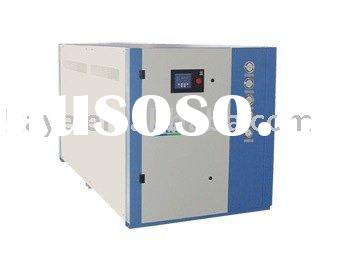 Industrial low temp(-5C/-15C) water cooled packaged water chiller(4-80kw cooling capacity)
