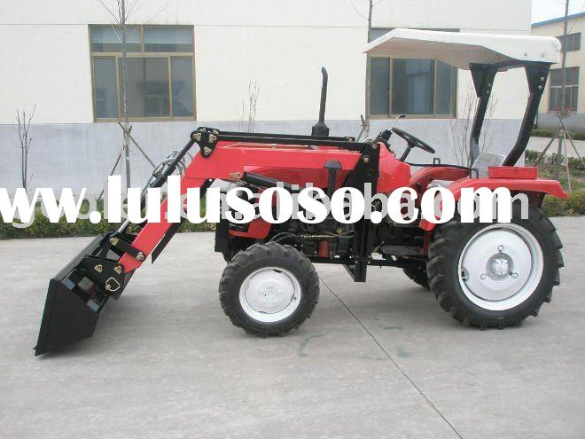 LZ254/LZ284/LZ304 small farm tractors fit with 4in1 front end loader
